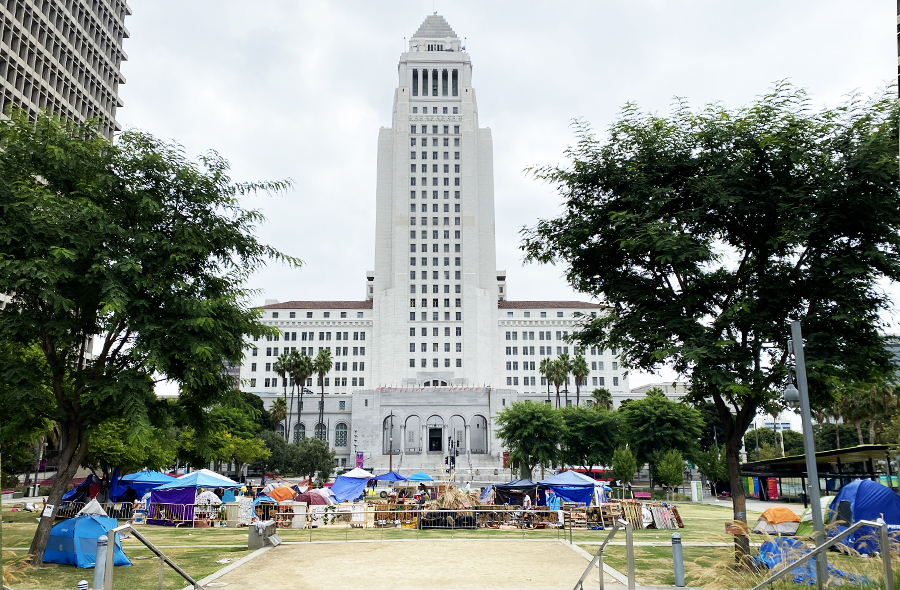city hall encampment