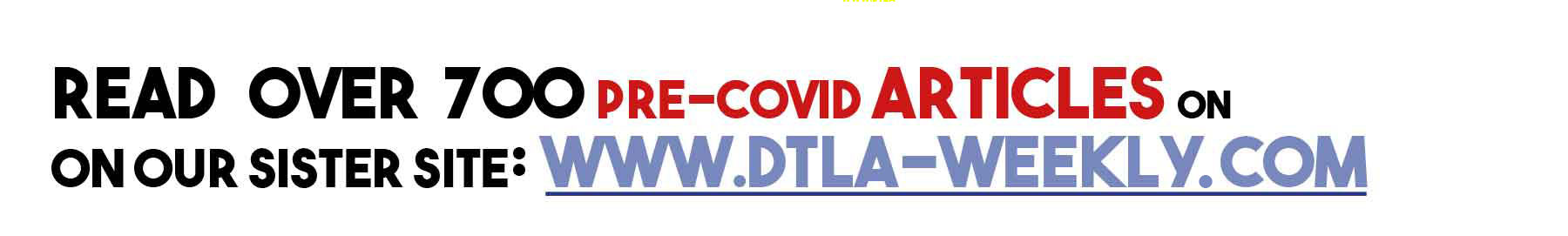 DTLA Weekly banner