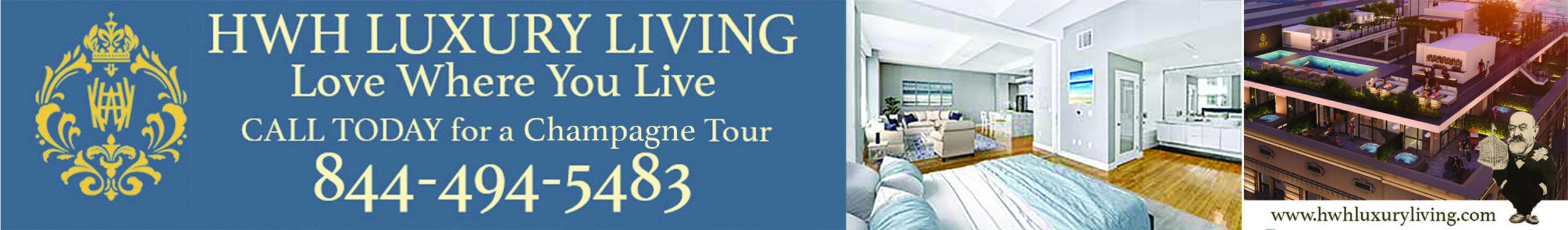 hwh luxury living banner
