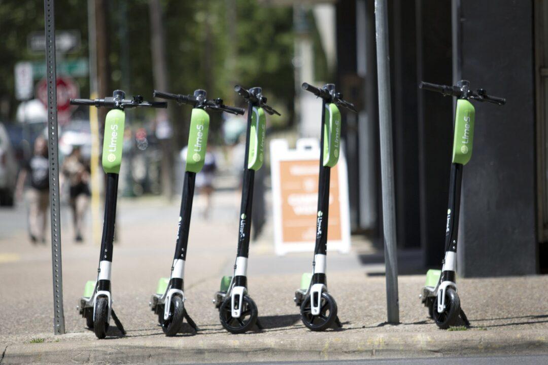 DTLA scooters